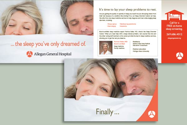 """Finally"" Sleep Direct Mail"