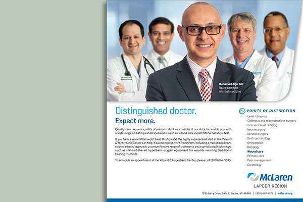 Distinguished Doctors Expect More - Wound